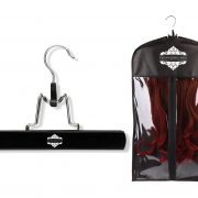 Crown Jewel Hair Extensions Garment Bag & Hanger