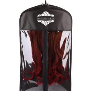 Crown Jewel Hair Garment Bag