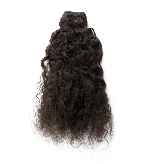 Indian Curly Virgin Hair Single Drawn